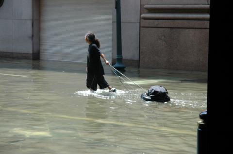 Efectos del huracán Katrina, 2005.