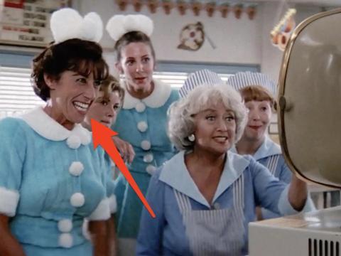 Ellen Travolta en 'Grease'.