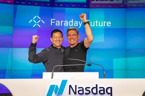 Faraday Future salió a bolsa mediante un acuerdo SPAC en julio.