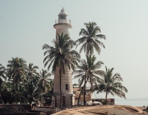 Faro de Galle, Galle, Sri Lanka.