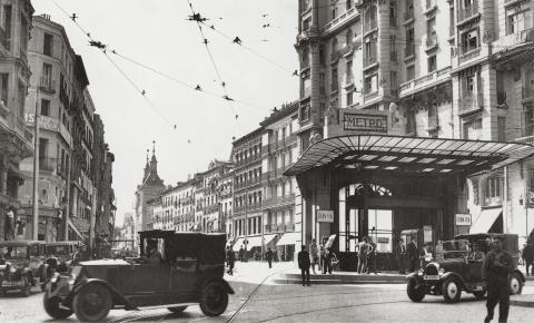 Foto histórica Metro