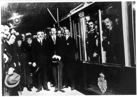 Fotos históricas Metro