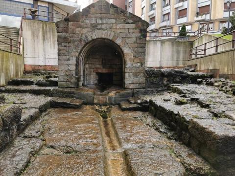 Fuente de Foncalada, Asturias.
