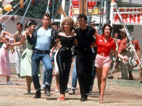 Las escenas finales de la película se rodaron utilizando atracciones reales.