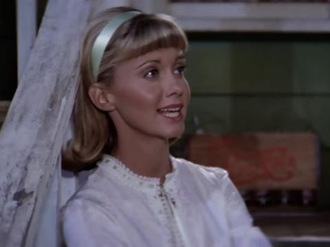 Olivia Newton-John como Sandy en 'Grease'.