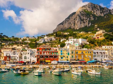 Isla de Capri, Italia.