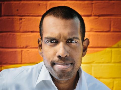 Karan Shanmugarajah, CEO y cofundador de WealthKernel.