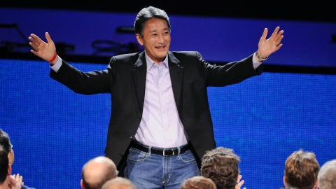Kazuo (Kaz) Hirai, presidente y CEO de Sony.