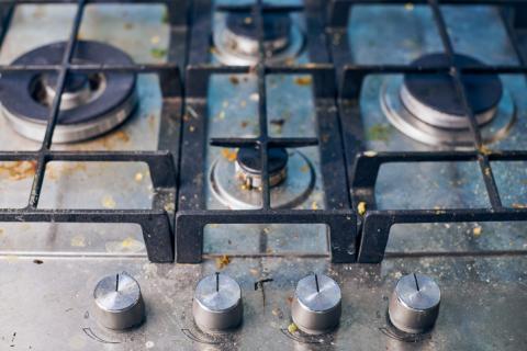 Los mandos del horno, lavavajillas, lavadora y secadoras