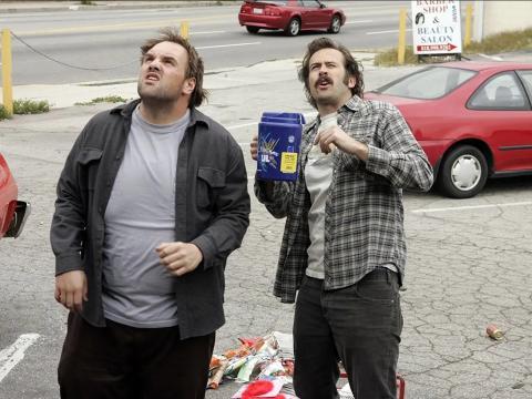 Ethan Suplee y Jason Lee como Randy y Earl Hickey.