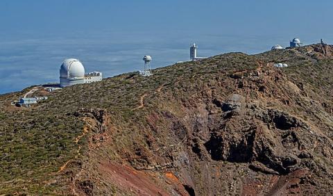 Observatorio Roque de los Muchachos.