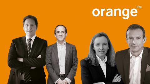 Laurent Paillasot (antiguo CEO de la compañía), Samuel Muñoz (ex-Responsable de la Secretaría General y del área Legal), Mónica Sala (Responable de Tecnología) y Jean-François Fallacher (actual CEO).