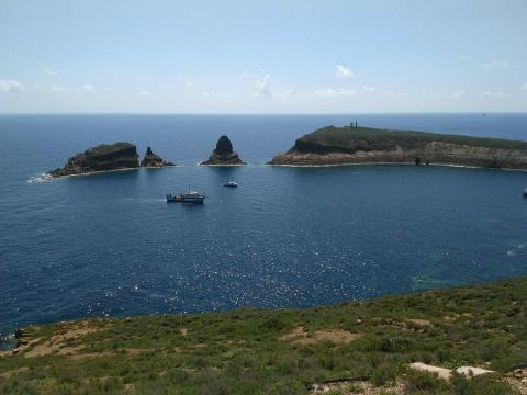 Parque Natural Isla Columbretes.