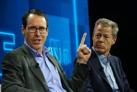 Randall Lynn Stephenson, presidente y CEO de AT&T, en una imagen de archivo
