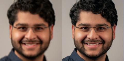 Reescalado de imágenes por IA de Google
