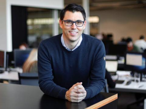 RJ Scaringe, CEO de Rivian