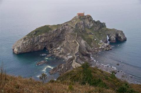 San Juan de Gaztelugatxe, Vizcaya.