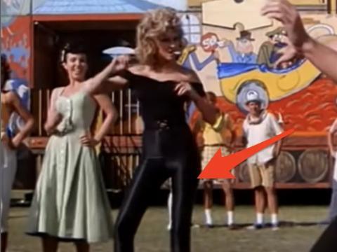 Olivia Newton-John en 'Grease'.