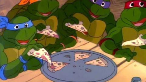 'Las tortugas ninja'.