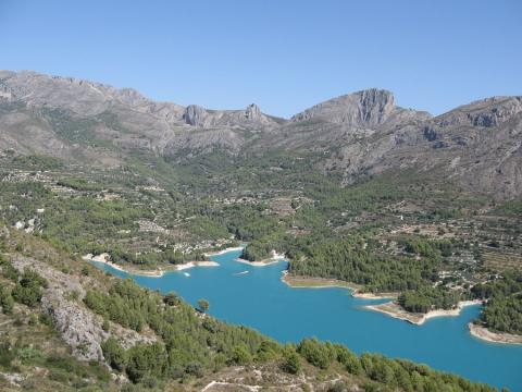 Valle del Guadalest.