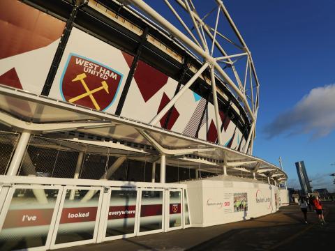 El estadio.