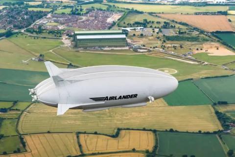 El 'Airlander 10'.