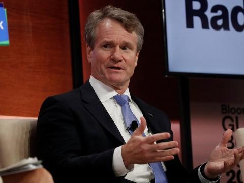 Brian Moynihan, CEO de Bank of America. Shannon Stapleton/Reuters