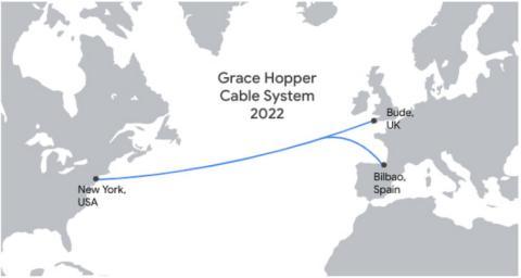 El Grace Hooper conectará la costa de Nueva York, con España y Reino Unido.