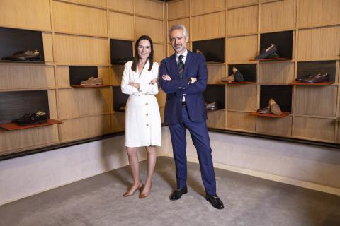En imagen, Carlos Baranda , CEO de Glent e Inmaculada Reinoso directora de Marketing.