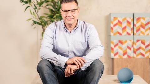 Carlos Fernández Casares, director de Desarrollo de Negocio de Alexa para España.