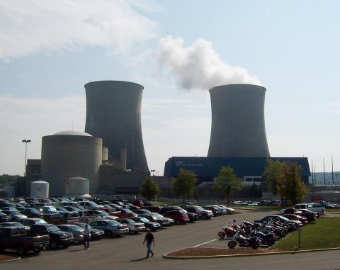 Central nuclear de TVA en Spring City, Tennessee, EEUU.