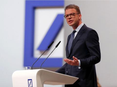 Christian Sewing, CEO de Deutsche Bank. Reuters