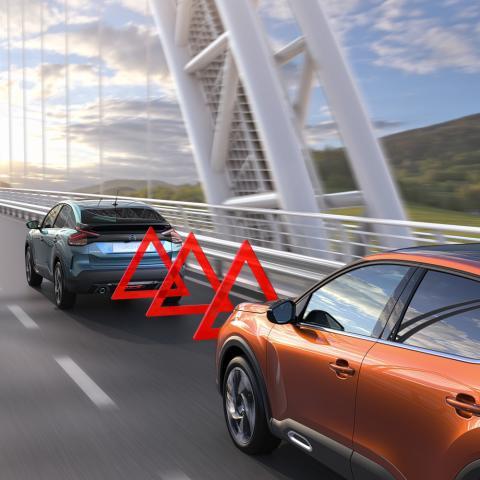 Citroën ëC4 detección de obstáculos