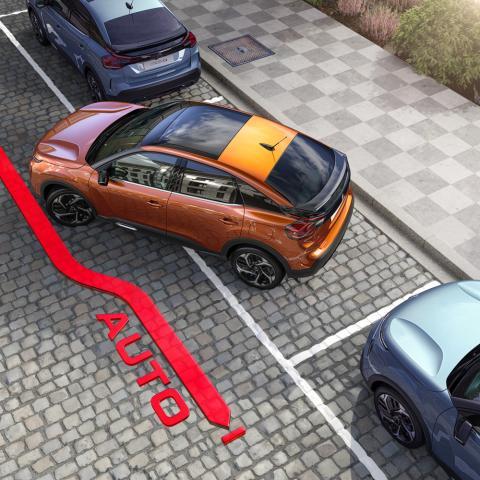 Citroën ëC4 - parking sin arañazos