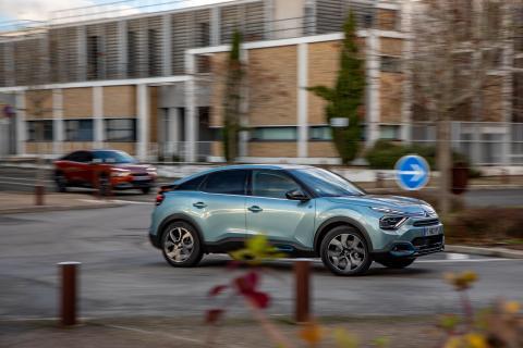 Citroën ëC4 - reacciones rápidas