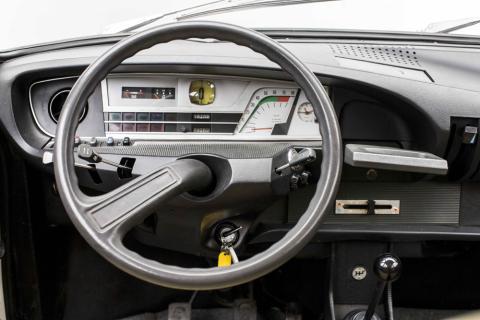 Citroën GS - primer paso en tecnologías de conducción