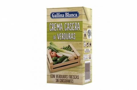 Crema de verduras Gallina Blanca