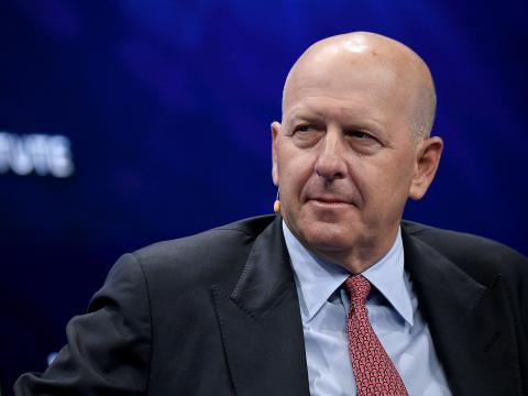 David Solomon, CEO de Goldman Sachs. Michael Kovac/Getty Images