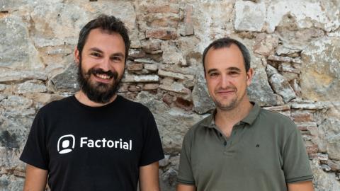 Dos de los fundadores de Factorial, Jordi Romero y Bernat Farrero.