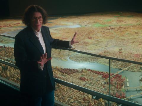 Fran Lebowitz en 'Supongamos que Nueva York es una ciudad'.