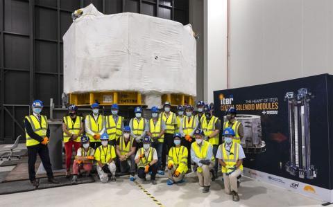 ITER celebró una ceremonia virtual junto a General Atomics y el departamento de Energía de Estados Unidos.