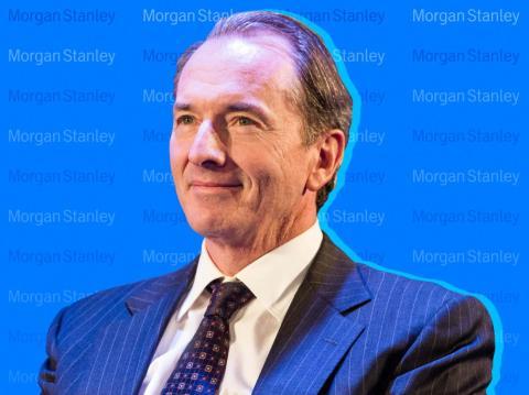 James Gorman, CEO de Morgan Stanley. Andrew Burton/Getty Images; Samantha Lee/Business Insider