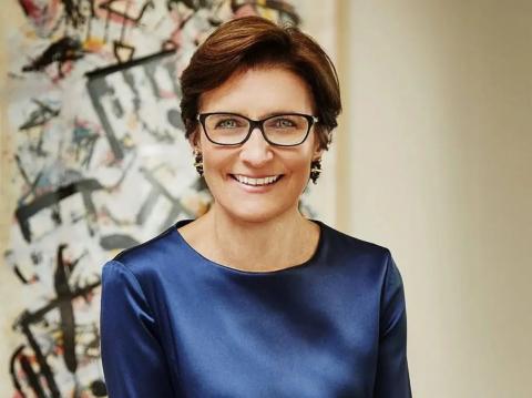 Jane Fraser, CEO de Citigroup. Julian Restrepo / Citigroup vía AP