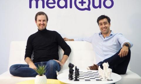 Guillem Serra (izq), y Bruno Cuevas (der), cofundadores de Mediquo.