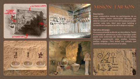 'Misión Faraón', una de los Escape Room disponibles.