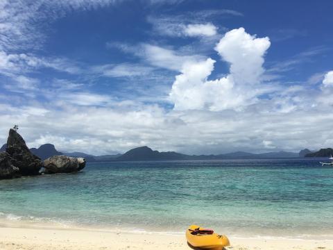 Palawan Filipinas playa