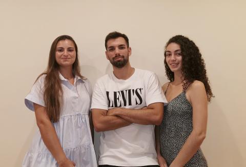Laura Martinavarro Fuertes, Juan Carlos Espert Cervera y Sofía Aparicio Ródenas, creadores de PINSOFT.