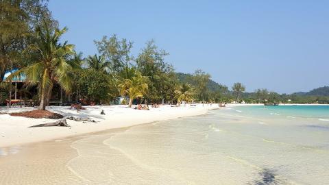 Playa de Long Set, Koh Rong, Camboya