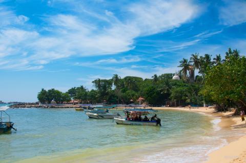 Playa Unawatuna, Sri Lanka