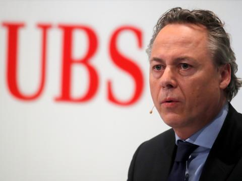 Ralph Hamers, CEO de UBS. Reuters/Arnd Wiegmann